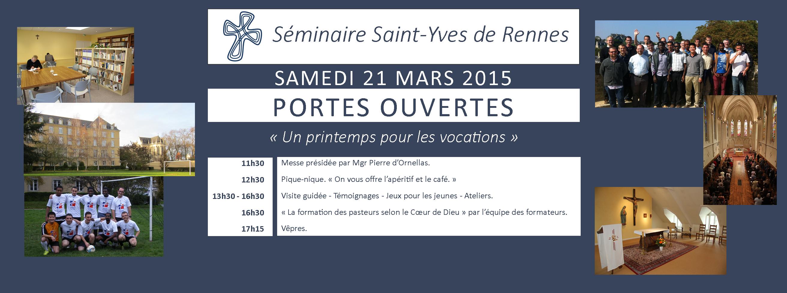 Portes ouvertes séminaire de Rennes 2015